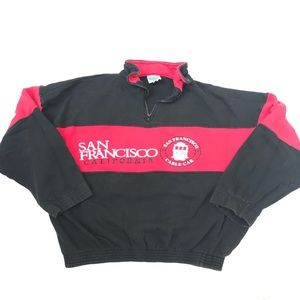 Other - Vintage 90's San Francisco Quarter Zip Pullover